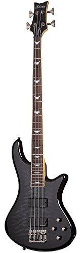 Schecter Stiletto Extreme-4 Bass Guitar (4 String, See-Thru Black)