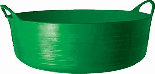 (TUBTRUGS 10 Shallow Tub, 9 Gallon, Green)