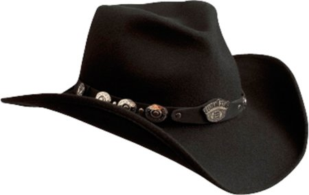 e7be143a8f7 Image Unavailable. Image not available for. Colour  Jack Daniel s Hats 100%  Wool Satin Lined Western Cowboy Hat (Small)