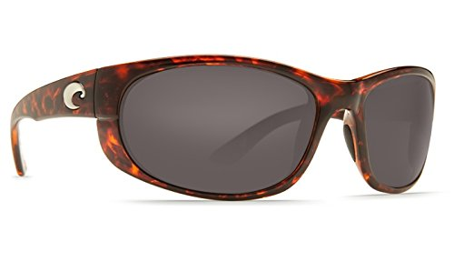 Costa Del Mar Howler C-Mate 1.50 Sunglasses, Tortoise, Gray 580P ()