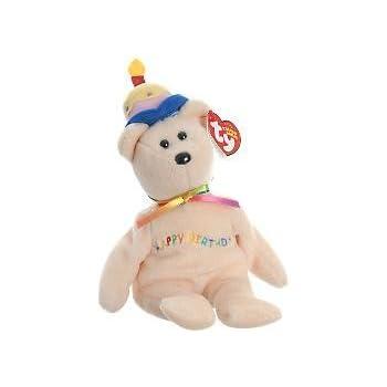 TY Beanie Babies Happy Birthday  - Birthday Beanie Bear