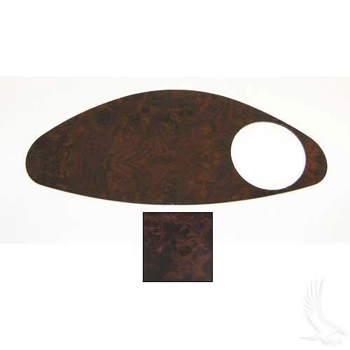 EZGO RXV (Fleet) Dash Cover Plate - Wood Grain