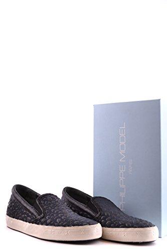 Sneakers Philippe Uomo Nero On Model Tessuto Slip Model Philippe MCBI238008O ZgPXWH4