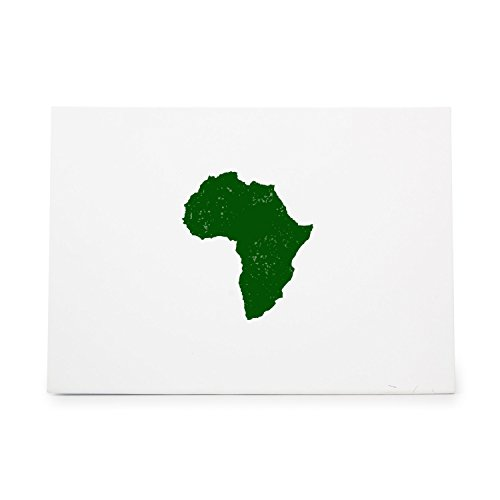 Africa 1403 Rubber Stamp Shape great for Scrapbooking, Crafts, Card Making, Ink Stamping Crafts (Africa Stamp)
