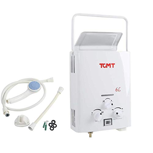 Tengchang 6L Hot Water Heater 1.3GPM LPG Gas Boiler Tankless House Outdoor Digital LCD 01
