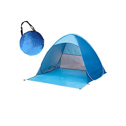 🥇 Ardermu Tienda de Campaña para la Playa – Pop Up Tent Beach Shelter Tienda -Bolsa de Transporte para 2-3 Personas se Puede Usar en Tienda de Campaña para Campamento