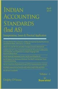 INDIAN ACCOUNTING STANDARDS ( Ind AS ) [ Set of 2 Volumes]