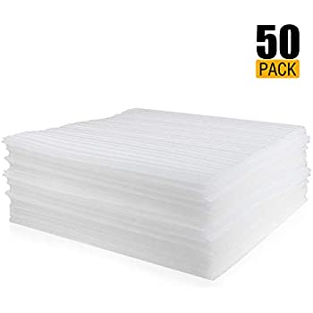Amazon Com 50 Count Packing Supplies Cushion Foam Sheets