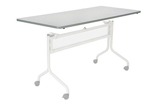 (Safco Office Meeting Seminar Impromptu Mobile Training Table, Rectangle Top - 72 x 24