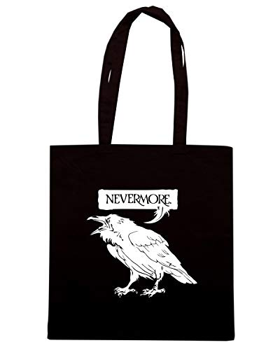 Shirt Shopper Borsa RAVENAIL NEVERMORE Nera Speed FUN0041 1EdZwqdH