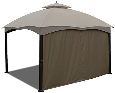 ABCCANOPY Gazebo Privacy Panel Side Wall fits 10 x 12 Gazebo Model GF-12S004BTO Beige