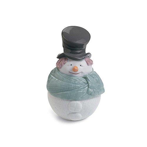 Nao Deco Snowman Figurine by Nao®