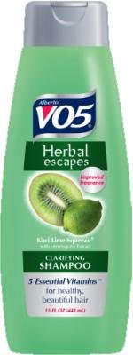 Vo5 Herbal Escapes Kiwi Lime Shampoo, 12.5 Fluid Ounce - 6 per case.