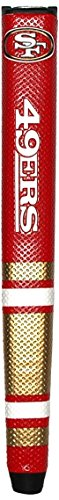 Team Golf NFL San Francisco 49ers Golf Putter Grip with Removable Gel Top Ball Marker, Durable Wide Grip & Easy to Control