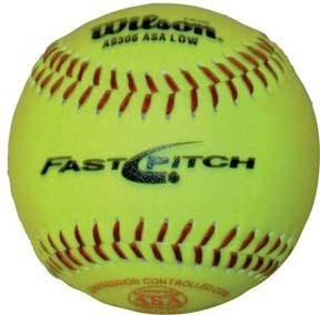 Wilson 11'' Fast Pitch Youth/Practice Softball - BA219P by Wilson