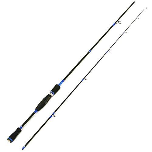 Entsport 2-Piece Spinning Rod Graphite Portable Spinning Fishing Rod Inshore Spinning Pole Freshwater Spin Rod (8-20-Pound Test) (7′ Medium Heavy) Review