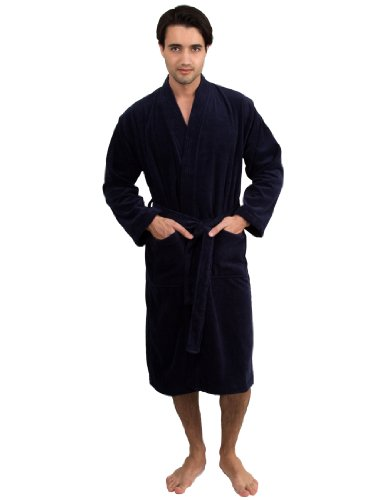 TowelSelections Turkish Cotton Velour Bathrobe
