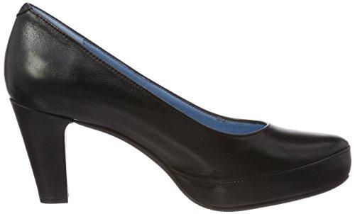 Plateforme Escarpins gloss Noir Femme À Blesadork black Dorking 87AqxPIn