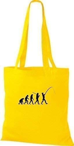 Para Tela Mujer De Bolso Amarillo Algodón Shirtinstyle qI0zpawx