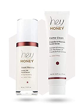 HONEY AND PROPOLIS FACIAL TREATMENT SET – COME CLEAN DUET – Come Clean Good Morning