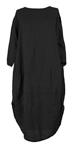 TEXTUREONLINE - Vestido - para mujer negro