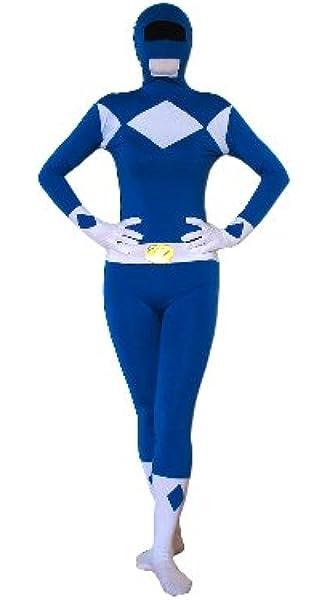 FYBR Disfraz de Power Ranger SuperSkin para Adulto, Unisex ...
