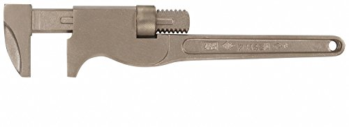 Nickel Aluminum Bronze 18 Monkey Wrench, 3 Jaw Capacity