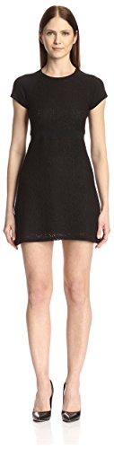 SOCIETY NEW YORK Women's Lace Cap Sleeve Dress