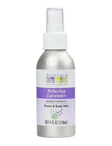 - Aura Cacia - Aromatherapy Mist For Room and Body Lavender - 4 fl. oz.