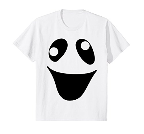 Kids Funny Ghost Costume Shirt | Funny Halloween Shirts for Kids 4 White -