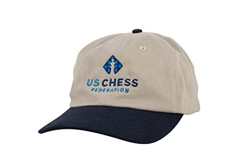 New U S  Chess Federation Baseball Hat   By Us Chess Federation