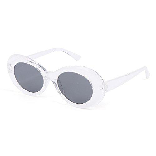 de hommes Transparent mode Lunji soleil 14 Blanc 5cm lunettes xWnWpt8Aw