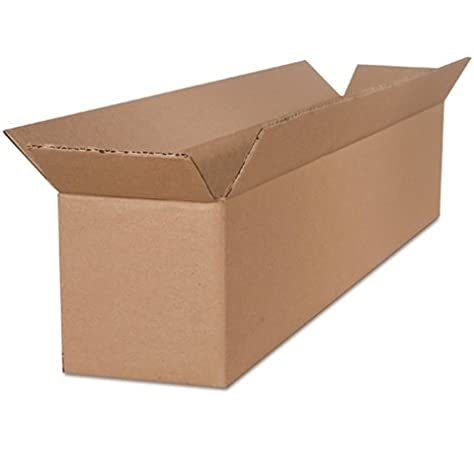 25-Count The Packaging Wholesalers 13 x 13 x 4 Inches Shipping Boxes BS131304