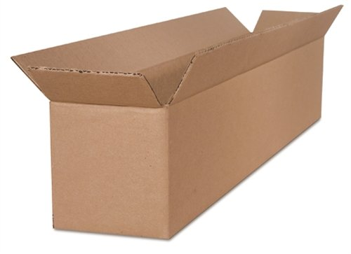 The Packaging Wholesalers 12 x 6 x 6 Inches Shipping Boxes, 25-Count (BS120606)