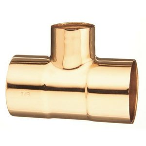 - 3 x 3 x 1-1/2 in. Wrot Copper Reducing Tee