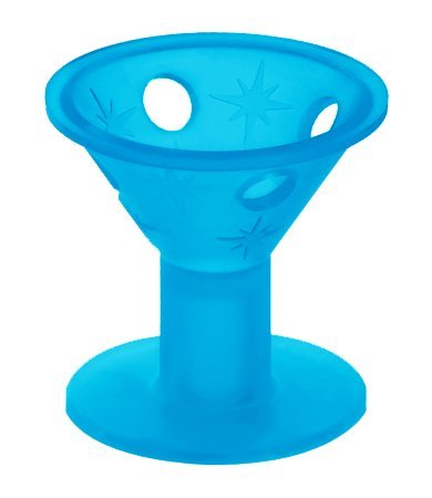 Spoolies Original Heatless Hair Curlers (Jumbo, Beachy Blue) - Hair Spools