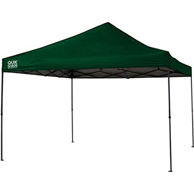 Canopy Quik Shade Weekender Elite 12'x12' Straight Leg Instant (144 sq. ft. Coverage) : Garden & Outdoor