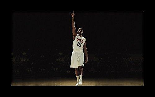 8 x 10 All Wood Framed Photo Wallpaper-Kobe-Bryant-Sport-Celebrity