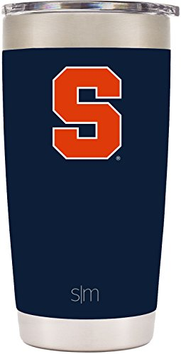 Simple Modern 20Oz Cruiser Tumbler   Syracuse Orange Vacuum Insulated 18 8 Stainless Steel Tailgating Cup Travel Mug   Syracuse