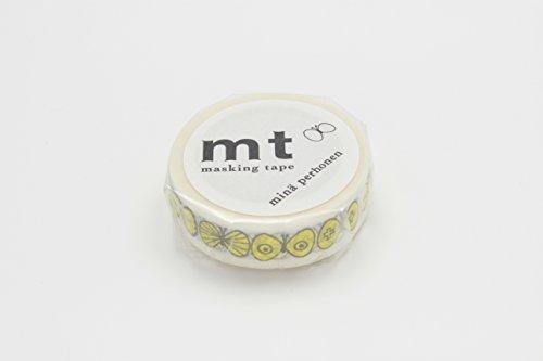 Mt Washi Masking Tapes MT Mina Perhonen - Choucho Yellow