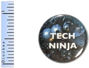 Amazon.com : Tech Ninja Button Web Developer Gift Pin ...