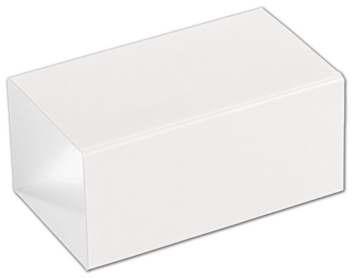 Food & Gourmet Boxes - White 2-Truffle Confectionery Sleeves (100 Sleeves) - SLEVE-2WH -  Miller Supply Inc., DFS-1204