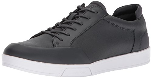 Calvin Klein Men's Baldwin Sneaker, Grey, 8.5 Medium US by Calvin Klein