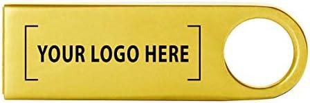 Alum USBフラッシュドライブ–シルバー16GB 32GB 4843-Gold-25