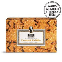 See's Candies 10 oz. Peanut Brittle by See's Candies