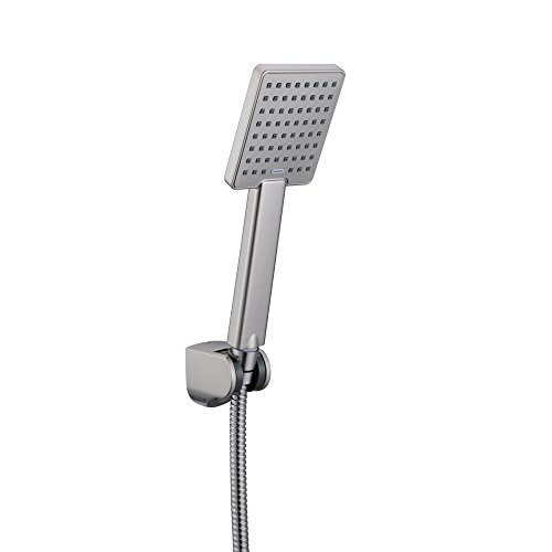 Kes Hand Held Shower Heads Handheld Combo Brushed Nickel With