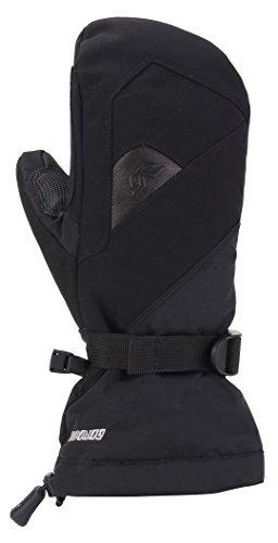 Gordini Women's Women's Aquabloc Down Gauntlet Iv Waterproof Gloves, Black, Small