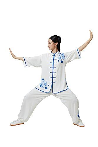 ShanRen Sports Women's Martial Arts Wear Tai Chi Uniform (Medium)