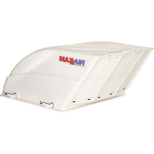 - Maxxair 00-955001 White Fanmate Cover with Ez Clip Hardware
