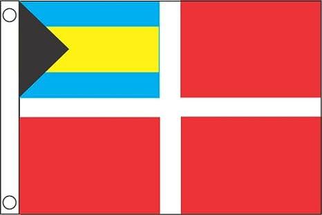Taylor Hizo Productos 2018 Bahamas Bandera de Barco cortesía, 12 x ...